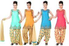 Patiala Salwar Kameez Readymade party wear Punjabi Indian pakistani kurti Suit