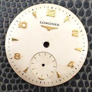 Longines Dial Sphere 1in Quadrante Part Piece Spare Vintage Watch