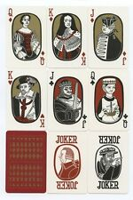 SCOTTISH HISTORICAL playing cards 1975 by Stirling Gallery Scotland