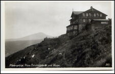 Riesengebirge Schlesien AK 1930 Krkonoše Karkonosze Prinz Heinrich Baude Koppe