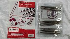 Knit Pro Nova Metal Circular Interchangeable Knitting Needle Chunky Set N010603