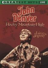 JOHN DENVER: ROCKY MOUNTAIN HIGH - LIVE IN JAPAN USED - VERY GOOD DVD