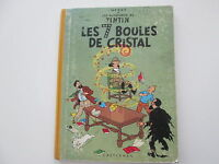 TINTIN LES 7 BOULES DE CRISTAL B33 1963 BE/TBE
