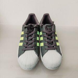 Adidas Superstar MG FV3030 grau / grün Gr. 39,5