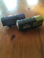 Dodge & Splatter WORKING Thomas & Friends Trackmaster Motorized Trains HIT TOY