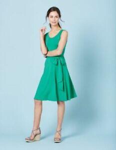 BODEN  Stretch Jersey Kleid  Tie Waist Dress  GR.UK.14R 40  Neu