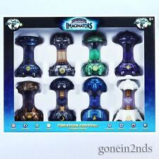 Skylanders Imaginators - 8 PACK CREATION CRYSTALS-INC DARK & LIGHT *New & sealed