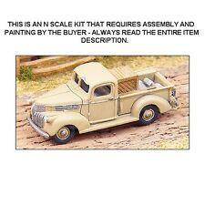 1941 CHEVROLET PICK-UP TRUCK KIT - N SCALE KIT - GHQ 57007