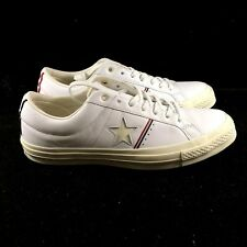 bf7b60ed227d Converse One Star OX White Cream Red Low Top Sneaker Shoe 159694C NEW
