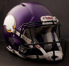 **GAMEDAY-AUTHENTICATED** Minnesota Vikings NFL Riddell Speed Football Helmet