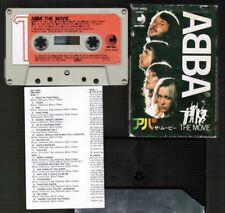 Cassette-Only! ABBA The Movie JAPAN CASSETTE DCP-4002 w/SLIP CASE+INSERT Free SH