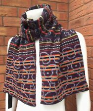 MARC BY MARC JACOBS DOUBLE FACE/REVERSIBLE STRIPE/PAISLEY SCARF RETAIL £120