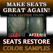 BLACK - Leather Color Samples for all VOLVO Models 850/960/S40/V40/S60/S80/XC90