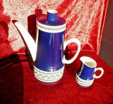 Villeroy & Boch , Porzellan Kaffeekanne + Milchkännchen