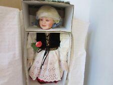 "Designer Guild Porcelain Doll Hilde Of The Netherlands 24"" #156 Ltd Ed Coa Box"