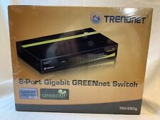 Trendnet Teg-S80G 8 Port Gigabit GreenNet Metal Housing Unmanaged Switch Sealed