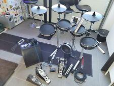 Millenium MPS 150-X E-Drum Mesh Set mit Verstärker, Kopfhörer und viel Zubehör.