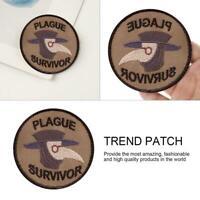 Merit Badge Patch Survivor Plague Survivor Geek Merit Badge Patch UK FAST NEW