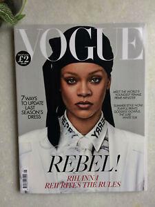 VOGUE Rihanna british may 2020 Fashion cover UK magazine NEW revue Rebel