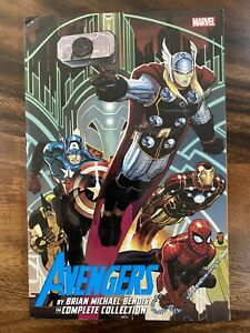 Avengers by Brian Michael Bendis The Complete Collection Volume 1 Marvel TPB HTF
