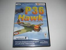 P36 HAWK Curtiss Hawk Model 75 Pc Add-On Flight Simulator Sim X FSX - NEW SEALED