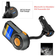 Car JL 4.2 FM Transmitter Kit Bluetooth USB Charger Handsfree MP3 Music Player