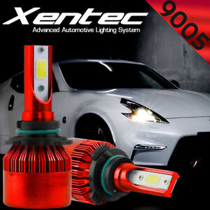 CREE LED Headlight Kit 9005 HB3 H10 38800LM DualSides Beam Bulb Conversion White