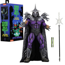 "NECA Teenage Mutant Ninja Turtles Deluxe Super Shredder 7"" Action Figure TMNT"