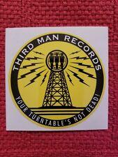 Third Man Records sticker White Stripes Jack White