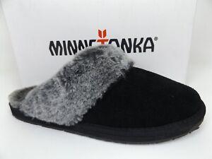 Minnetonka Women's Tawny Traditional Suede Slip-On Slippers, SZ 10.0 M,    17639