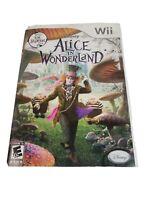 Alice in Wonderland (Nintendo Wii, 2010) Complete CIB