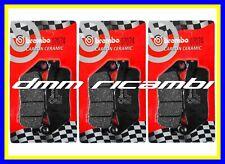 Brembo 07074 Pastiglie Freno - Nere, Set di 2