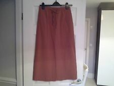 Ladies Long Skirt - Size 12 - by 4U2NV - Brand New With Tags (Orange/Tan)