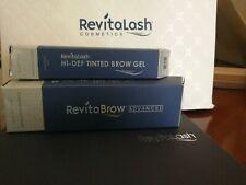 Revitalash ADVANCED and Hi-Def Tinted Brow Gel Soft Brown(Bundle)