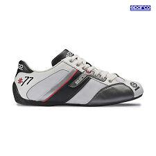 Neu Schuhe Sparco Time 77 weiß - schwarz (44 (9.5 UK) (10 US))