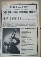 Gerald Wilson and His Orchestra 1946 Ad- at Los Angeles Orpheum New York Apollo