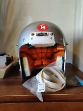 SCHUTT YOUTH  XP  HYBRID   FOOTBALL HELMET  YOUTH M COLOR SILVER MSRP 159.99