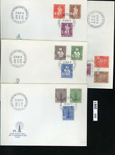 BM2061, Schweiz - Ausgaben Internationaler Organisationen, FDC, 1958, BIE, UIT