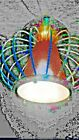 MIDCENTURY ATOMIC MODERN LIGHTOLIER CEILING LIGHT SPACE AGE ROCKET LAUNCH DESIGN