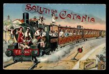 CATANIA saluti da; treno