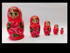 Matrioska - Anni '70 - Legno dipinto a mano - VINTAGE