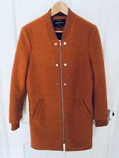 River Island Burnt Orange Coat Size 10