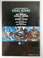 King Kong (1976) - Movie Pamphlet for the Japanese release - A4 Format