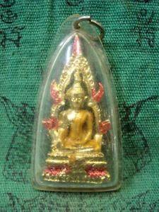 Phra Phuttha Chinnarat Statue Pendant Fetish Talisman Magic Thai Buddha Amulet