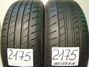 2 x Sommerreifen Dunlop SP Sport Maxx TT DSST  195/55 R16 87V,RSC,RUNFLAT,STERN.