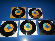 90's Records 45 RPM CHRIS ISAAK lot of 5 Different Records