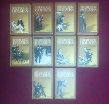 Sherlock Holmes Gesammtausgabe - Weltbild Sammler Edition - 10 Bände - A.C.Doyle