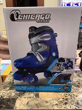Boys Quad Skate Combo Skate by Chicago Skates J10-J13