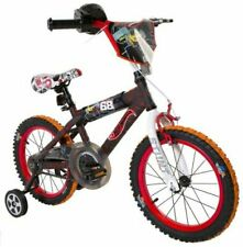"Hot Wheels Dynacraft Boys Bmx Street/Dirt Bike with Hand Brake 16"""" Black/Red/Or"