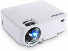 1500 Lumens LCD Mini Projector,Portable Multimedia Home Theater Projector for Ho